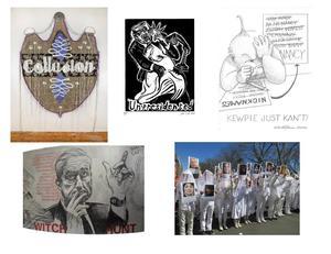 ARTISTS FIGHT TRUMP at ARTISTS TALK ON ART