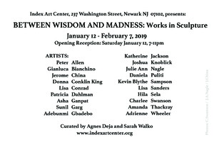 Between Wisdom and Madness: Works in Sculpture